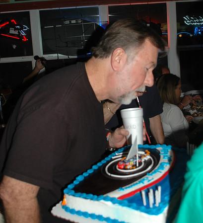 Papa Rocco Bill McGinnes hosts Johnny Reynolds 65th Birthday Party at his popular bistro